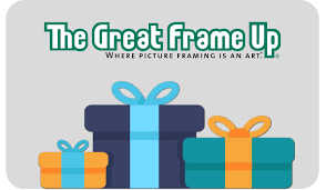 gift cards the great frame up