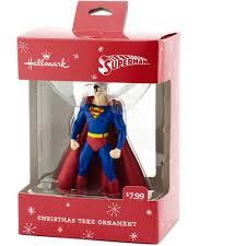 hallmark dc comics superman ornament walmart