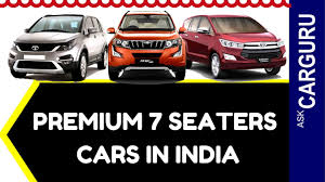indian car mahindra premium 7 seater cars in india carguru ह न द म