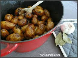 cuisiner pomme de terre grenaille pommes de terre grenaille au balsamique stram gram