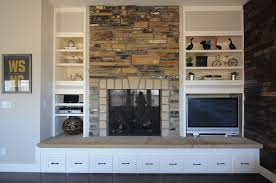 ideas for making over a fireplace suburban bees