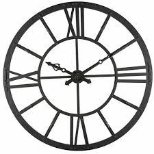 horloge murale engrenage maison du monde horloge finest horloge en mtal noir effet blanchi