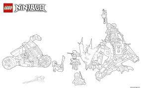 Coloriage lego ninjago saison 7  JeColoriecom