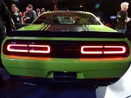 Dodge Challenger Interior Lighting 2015 Dodge Challenger Retro Packaging Current Technology