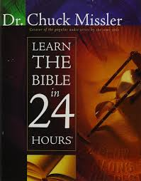 learn the bible in 24 hours chuck missler 9781418549183 amazon