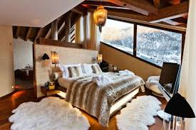 chambre style chalet deco chambre style chalet visuel 7