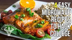 cuisine easy orens 4 microwave recipes to hack 4 recetas hechas en el