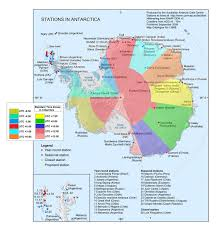 Antartica Map Map Of Time Zones U0026 Research Stations In Antarctica Fascinating