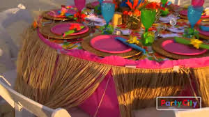 luau rehearsal dinner tips from party city youtube