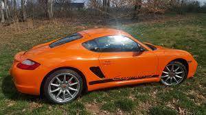2008 porsche cayman s sport for sale 2008 cayman s sport rs orange only 20k rennlist