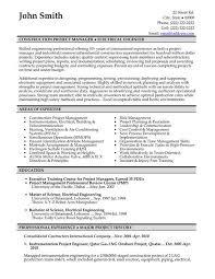 Construction Job Description For Resume by Engineer Manager Job Description Senior Project Manager Job