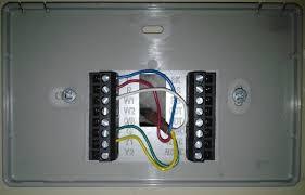 trane xl624 thermostat