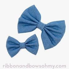 ribbon for hair bows denim bow ribbon and bows oh my