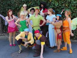 Tinkerbell Peter Pan Halloween Costumes Disney Cosplay Peter Pan Costume Tiger Lily Lost Boys Anime