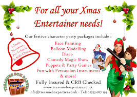nursery christmas party entertainment childrens entertainer