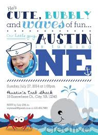 free printable baby boy first birthday invitations tags first