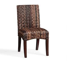 Woven Chairs Dining Seagrass Dining Chair Pottery Barn