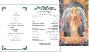 baby funeral program 12 funeral program ideasagenda template sle agenda template