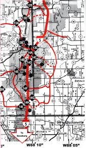 Wisconsin Snowmobile Trail Map by Trail System