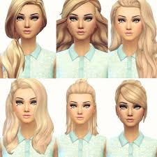 sims 4 maxis match cc hair current favourite maxis match hair from left to right then down and