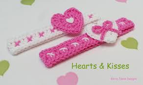 crochet headbands for babies crochet pattern sweetheart headband pattern crochet headband