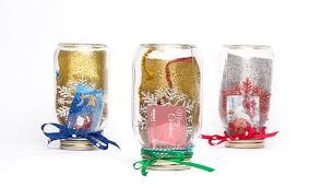 gift card snow globe glitterific jar snow globe gift card holder idea walmart