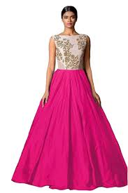 Pink Color Buy Style Amaze Bollywood Designer Silk Rani Pink Color Party Wear