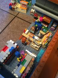 Simpsons Floor Plan Lego Simpsons The Kwik E Mart And Mini Figures Series 2 The