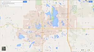 Longmont Colorado Map by Loveland Colorado Map