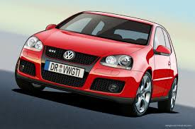 vw golf 5 gti vector by dangeruss on deviantart