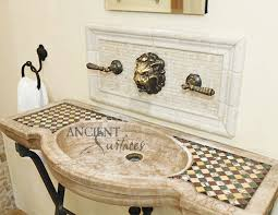 A Unique Collection Of Our Ancient Reclaimed Stone And Marble - Italian kitchen sinks