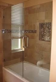 enchanting frameless glass shower door for shower small bathroom