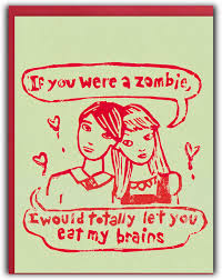 zombie greeting cards kids birthday party invitation card free