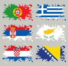 Europe Flags Southern Europe Clipart Clipground