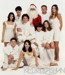 kim kardashian u0027s christmas family photo album u2013 these pics are