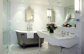cottage bathroom design modern style inspired bathroom design with large wall mirror