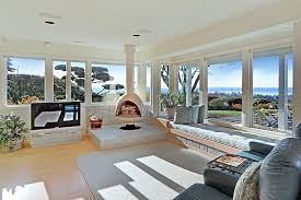 modern living room with screened porch u0026 window seat zillow digs