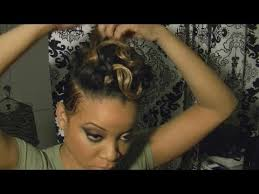 tutorial for black bonded weave hairstyles rihanna styled hair tutorial with blond adding a track to short