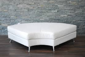 High Back Tufted Loveseat White Leather High Back Tufted Love Seat Platinum Event Rentals