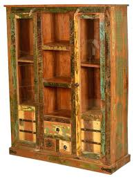 Wood Display Cabinets With Glass Doors Armoire Armoire Glass Doors Cabinet 2 3 Drawers Vitrine Expose