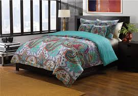 Paisley Duvet Cover Set Indian Oriental Paisley Bedding Twin Full Queen King Quilt Or