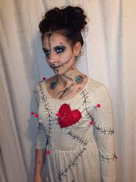 Evil Doll Halloween Makeup by Voodoo Doll Costume Halloween Pinterest Voodoo Dolls Voodoo