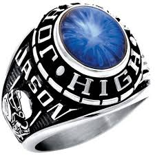 highschool class ring keepsake personalized men s oval class ring available in valadium