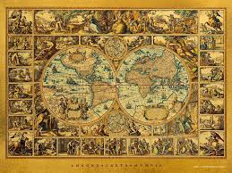 Large World Map Poster by Vintage World Map Background Artists Hd Wallpapers And Pictures