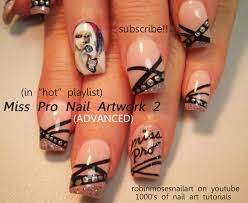 robin moses nail art how to paint a lady how to paint a portrait