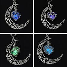 Gifts Halloween Aliexpress Com Buy Tomtosh 2017 New Moon Glowing Necklace