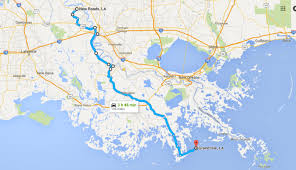 louisiana highway map take louisiana highway 1 for a gorgeous scenic drive