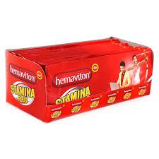 jual hemaviton stamina plus sleeve 50 kapsul stamina tubuh harga