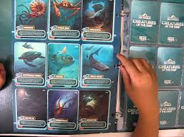 sea world collectible cards part 1