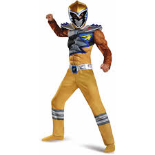 dinosaur costume for toddlers gold power ranger dino charge classic muscle child halloween